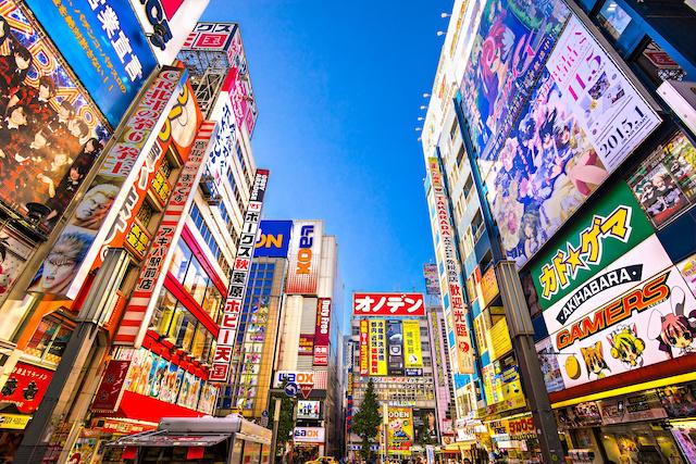 ジャパンボックス   Akihabara is a town for electronic, computer, anime, games and otaku goods in Tokyo.