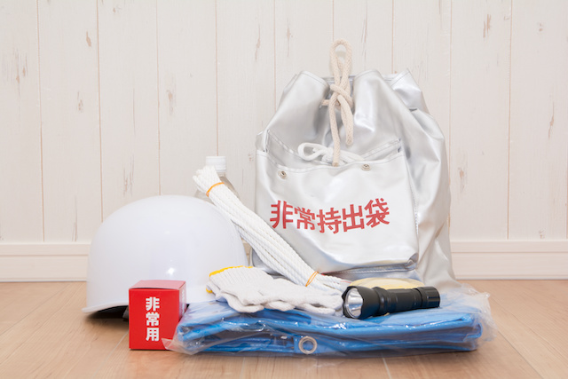 An emergency kit to prepare for earthquakes | JAPANBOX